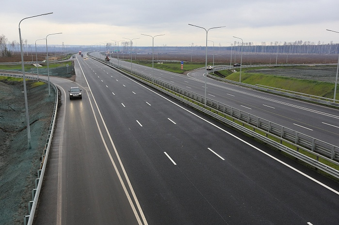 Section of M-4 «Don» Highway on the Voronezh Bypass (2013)